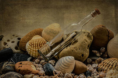 Photograph - Message In A Bottle IIi by Marco Oliveira