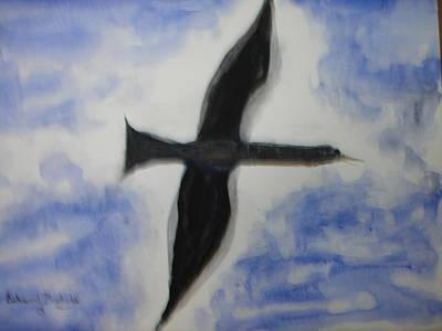 Messenger Miracle Art Print by Edward Burbidge