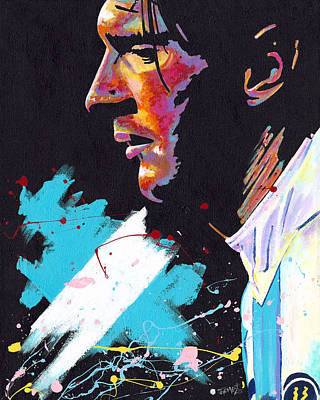 Lionel Messi Painting - Messi by Jeff Gomez