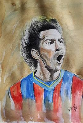 Messi Painting - Messi by Vidya Vivek