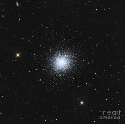 Photograph - Messier 13, The Great Globular Cluster by Michael Miller