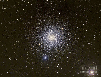 Photograph - Messier 3, A Globular Cluster by Reinhold Wittich