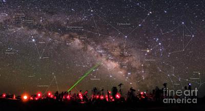 Amateur Astronomy Photograph - Messier Marathon by Babak Tafreshi