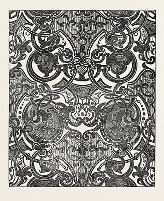 Damask Drawing - Messrs. Houldsworth And Co by English School