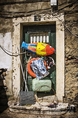 Trash Photograph - Messy Door by Carlos Caetano