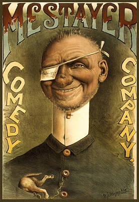 Comics Royalty-Free and Rights-Managed Images - Mestayer Comedy Company by Aged Pixel