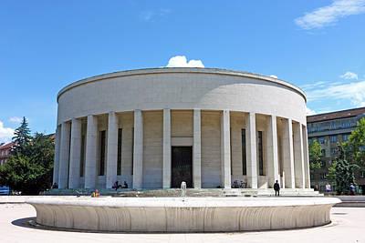 Photograph - Mestrovic Pavilion Rotunda Zagreb by Borislav Marinic