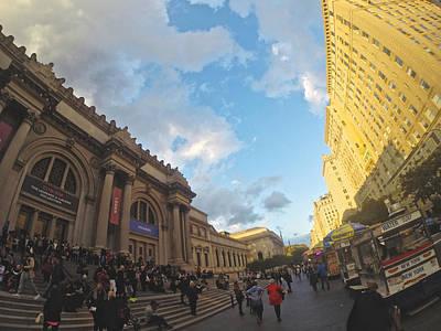Photograph - Met Museum by Steven Lapkin