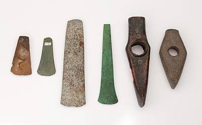 Imitation Photograph - Metal And Stone Imitation In Prehistory by Paul D Stewart
