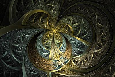 Phil Clark Digital Art - Metal Glass by Phil Clark