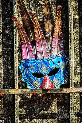 Photograph - Metal Mask New Orleans by Kathleen K Parker