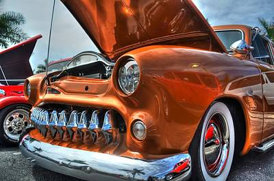 Photograph - Metal Mouth Hot Rod by Timothy Lowry