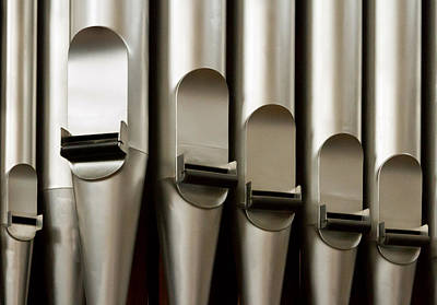 Photograph - Metal Pipes by Jenny Setchell