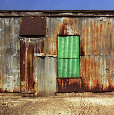 Photograph - Metal Shed With Fiberglass Panel by Greg Kluempers