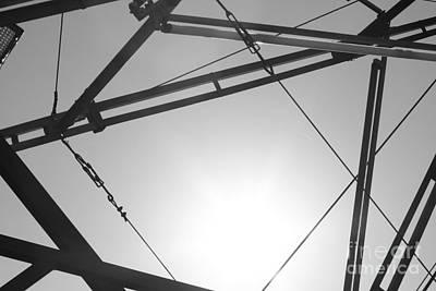 Photograph - Metal Sky by Barbara Bardzik