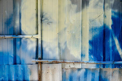 Photograph - Metal Wall Pipes And Paint In Havana Cuba by Rob Huntley