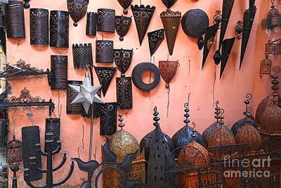 Metal Work Marrakesh Art Print by Sophie Vigneault