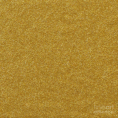 Digital Art - Metallic Gold Glitter by Ed Churchill