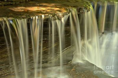 Photograph - Metallic Streams At Stony Brook by Adam Jewell