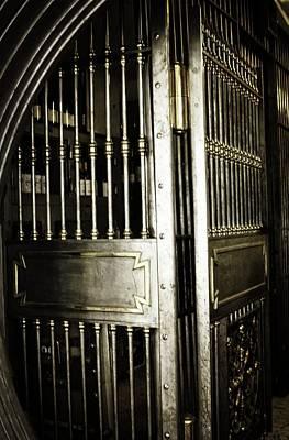 Metals Bank Vault Art Print by Image Takers Photography LLC - Laura Morgan