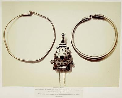 Metalwork Jewellery Art Print by British Library