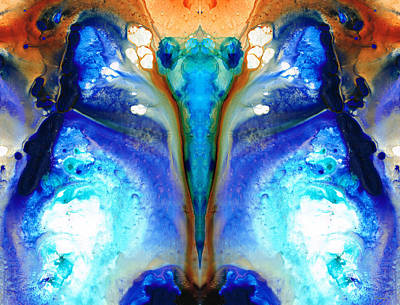 Kaleidoscope Painting - Metamorphosis - Abstract Art By Sharon Cummings by Sharon Cummings