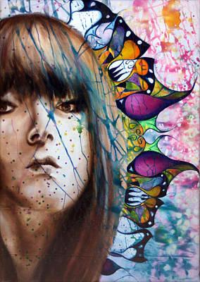 Wall Art - Painting - Metamorphosis by Alicia Post