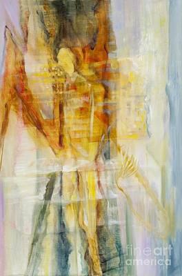 Painting - Metamorphosis-new Beginnings by Teresa Dunwell