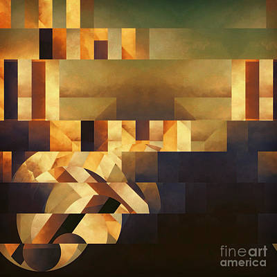 Metaphysical Action Art Print by Lonnie Christopher