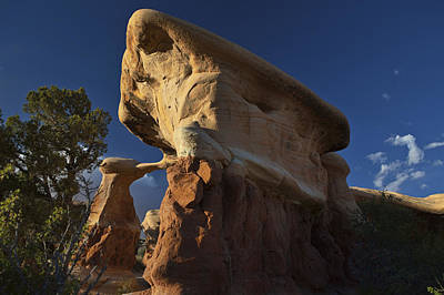 Photograph - Metate Arch Before Sunset by Gregory Scott