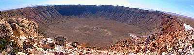 Photograph - Meteor Crater Filtered by Duane McCullough