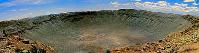 Photograph - Meteor Crater by John Haldane