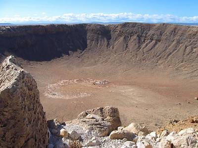Photograph - Meteor Crater by MTBobbins Photography