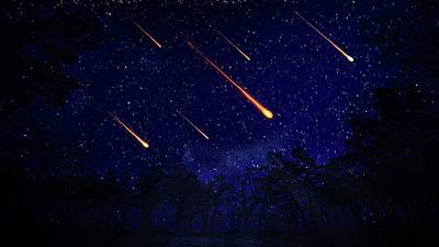 Outer Space Photograph - Meteor Shower by Andrzej Wojcicki