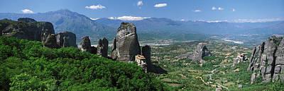 Meteora Monastery Greece Art Print