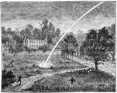 Styria Photograph - Meteoric Impact, 17th Century by Spl