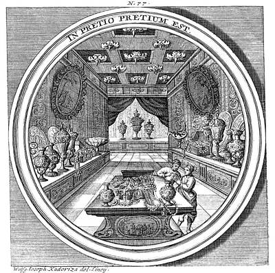 Photograph - Meteorologia, Treasure Chamber, 1709 by Science Source