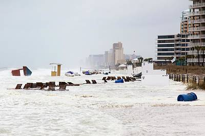 Panama City Beach Photograph - Meteotsunami by Jim Edds