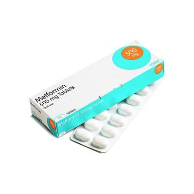 Metformin Antidiabetic Tablets Art Print
