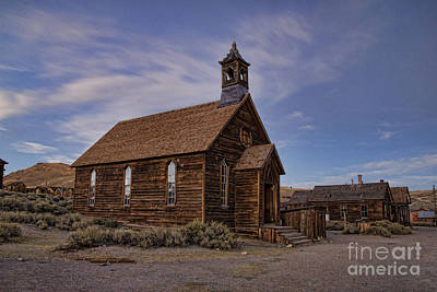 Photograph - Methodist Church Afternoon by Crystal Nederman