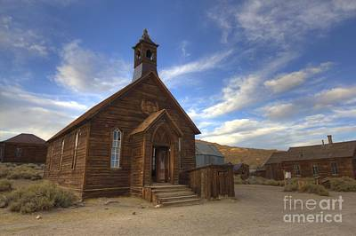 Photograph - Methodist Church In Bodie by Crystal Nederman