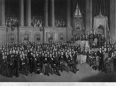 Nashville Tennessee Painting - Methodist Conference, 1858 by Granger