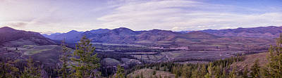 Photograph - Methow River Valley Via Sun Mtn Lodge by Omaste Witkowski
