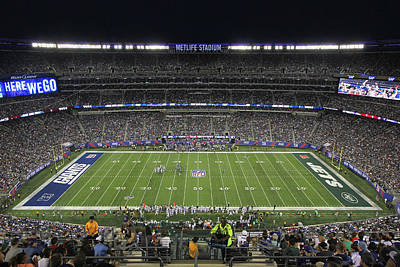 Photograph - Metlife Stadium 2 by Allen Beatty
