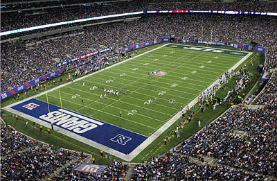 Photograph - Metlife Stadium 3 by Allen Beatty