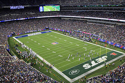 Photograph - Metlife Stadium 4 by Allen Beatty
