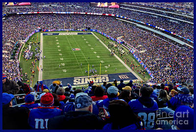 Mckenzie Pass Photograph - Metlife Stadium by Gary Keesler