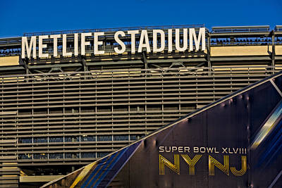 Photograph - Metlife Stadium Super Bowl Xlviii Ny Nj by Susan Candelario