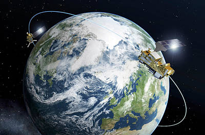 Forecast Photograph - Metop-second Generation Satellites by Esa-p. Carril