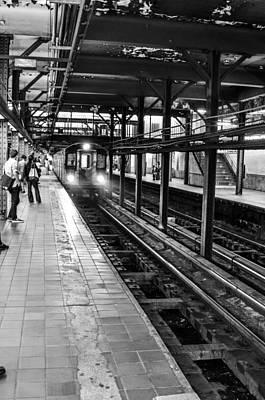 U2 Photograph - Metro by Alex Hiemstra